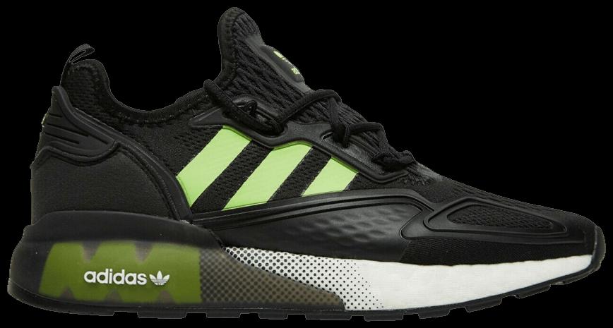 Tênis Adidas ZX 2K Boost Black Signal Green