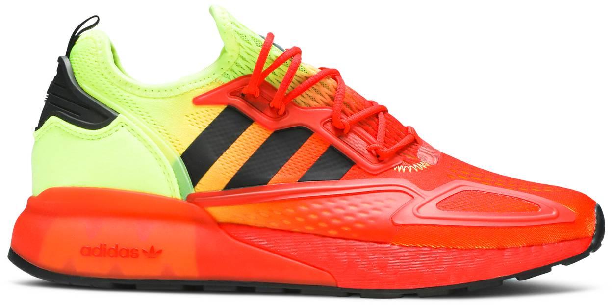 Tênis Adidas ZX 2K Boost Solar Yellow Red