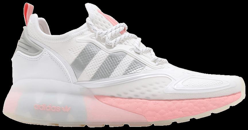 Tênis Adidas ZX 2K Boost White Glow Pink