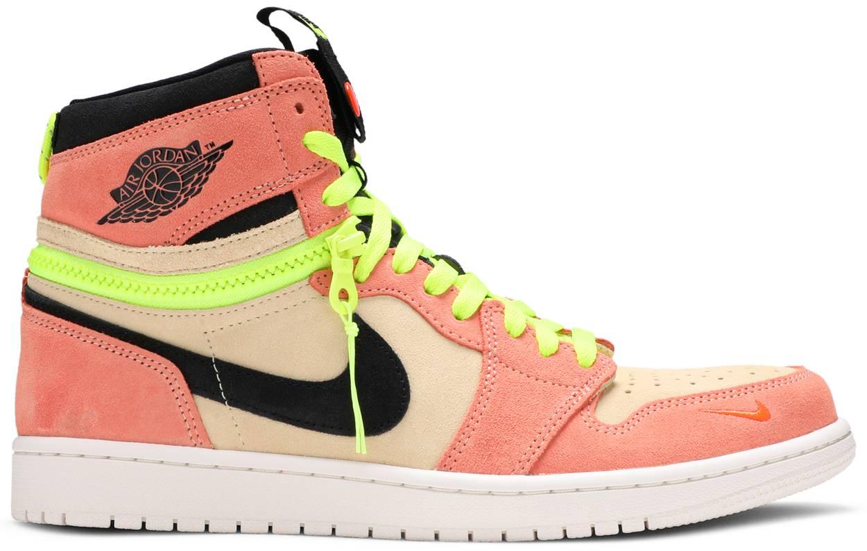 Tênis Air Jordan 1 High Switch Pink Volt