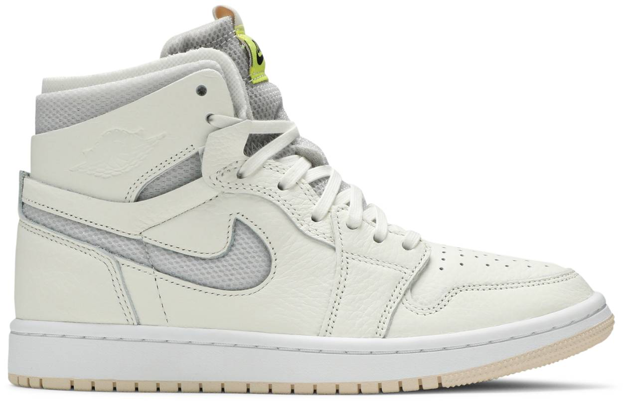 Tênis  Air Jordan 1 High Zoom Pearl White