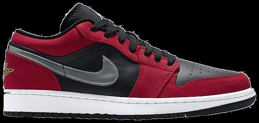 Tênis Air Jordan 1 Low Gym Red Green Pulse