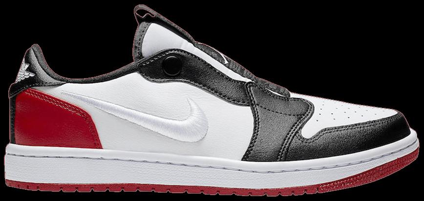 Tênis Air Jordan 1 Low Slip Black Toe