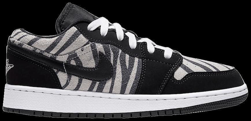 Tênis Air Jordan 1 Low Zebra