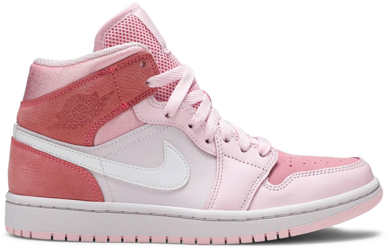Tênis Air Jordan 1 Mid Digital Pink