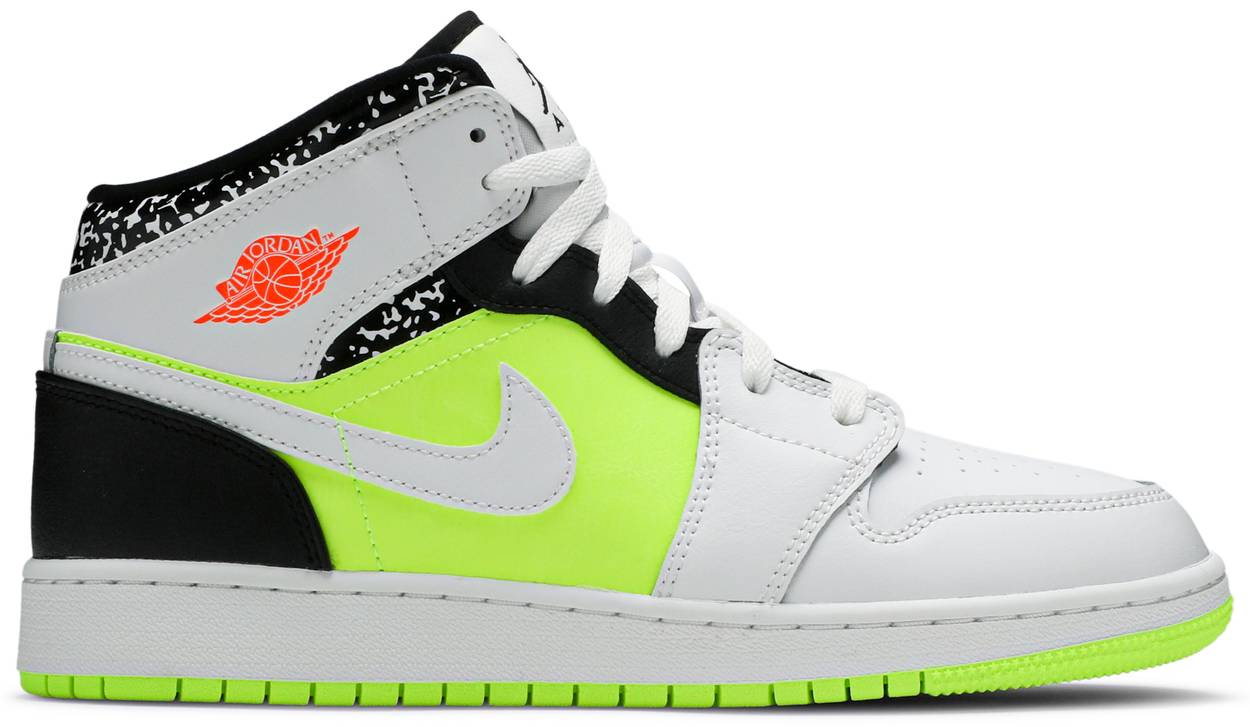 Tênis Air Jordan 1 Mid GS Notebook