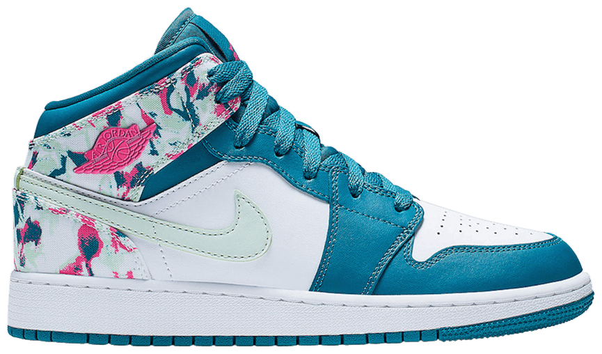 Tênis Air Jordan 1 Mid GS Paint Stroke