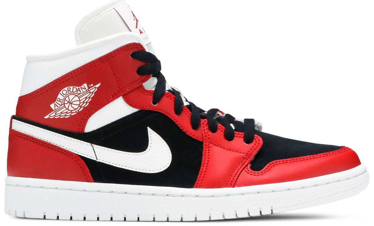 Tênis Air Jordan 1 Mid Gym Red Black