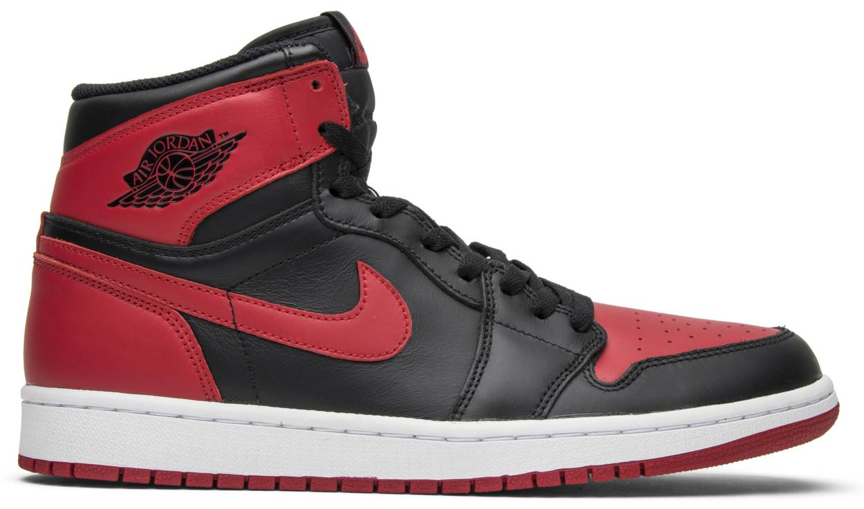 Tênis Air Jordan 1 Retro High OG Bred 2013