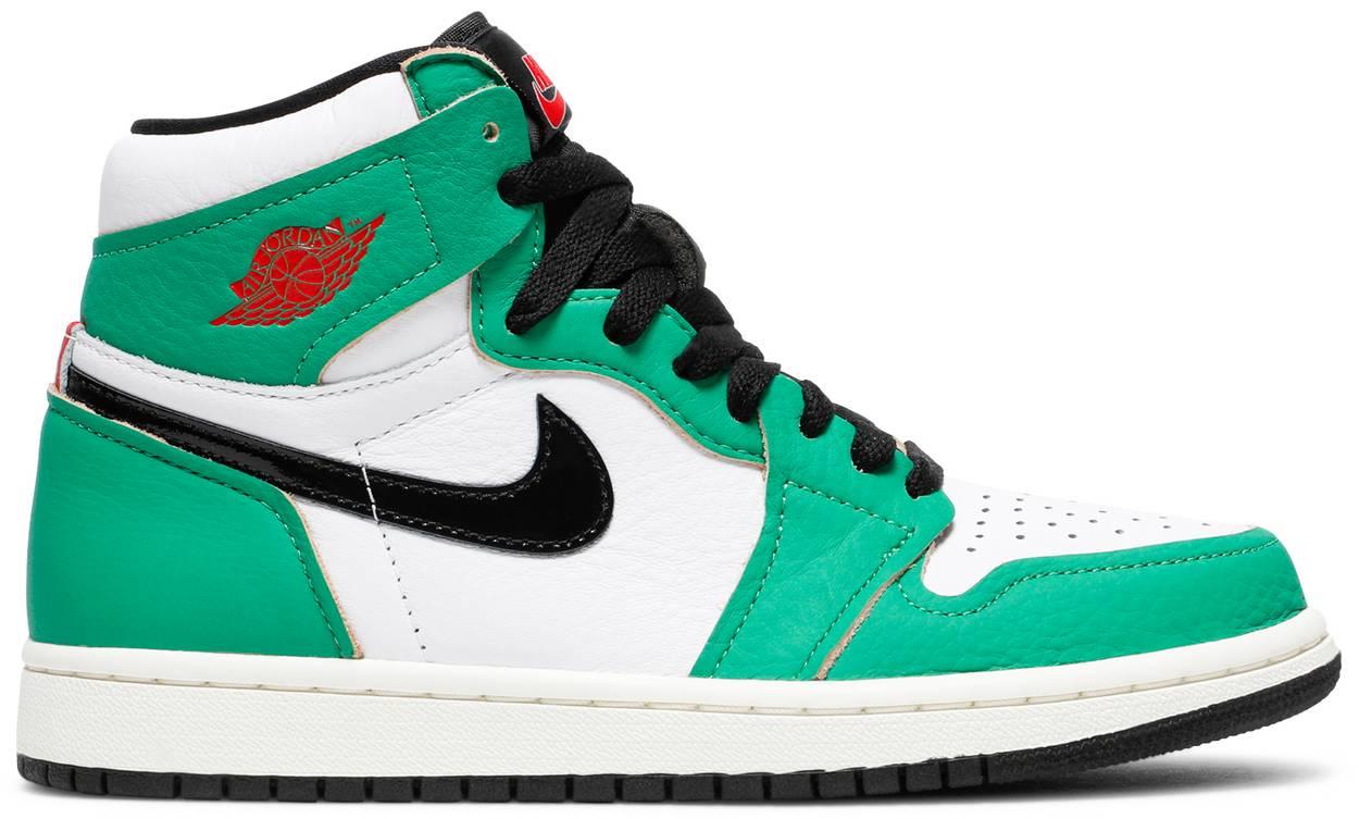 Tênis Air Jordan 1 Retro High OG Lucky Green