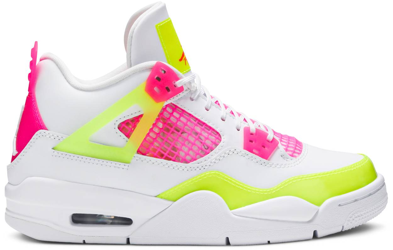 Tênis Air Jordan 4 Retro GS Lemon Venom