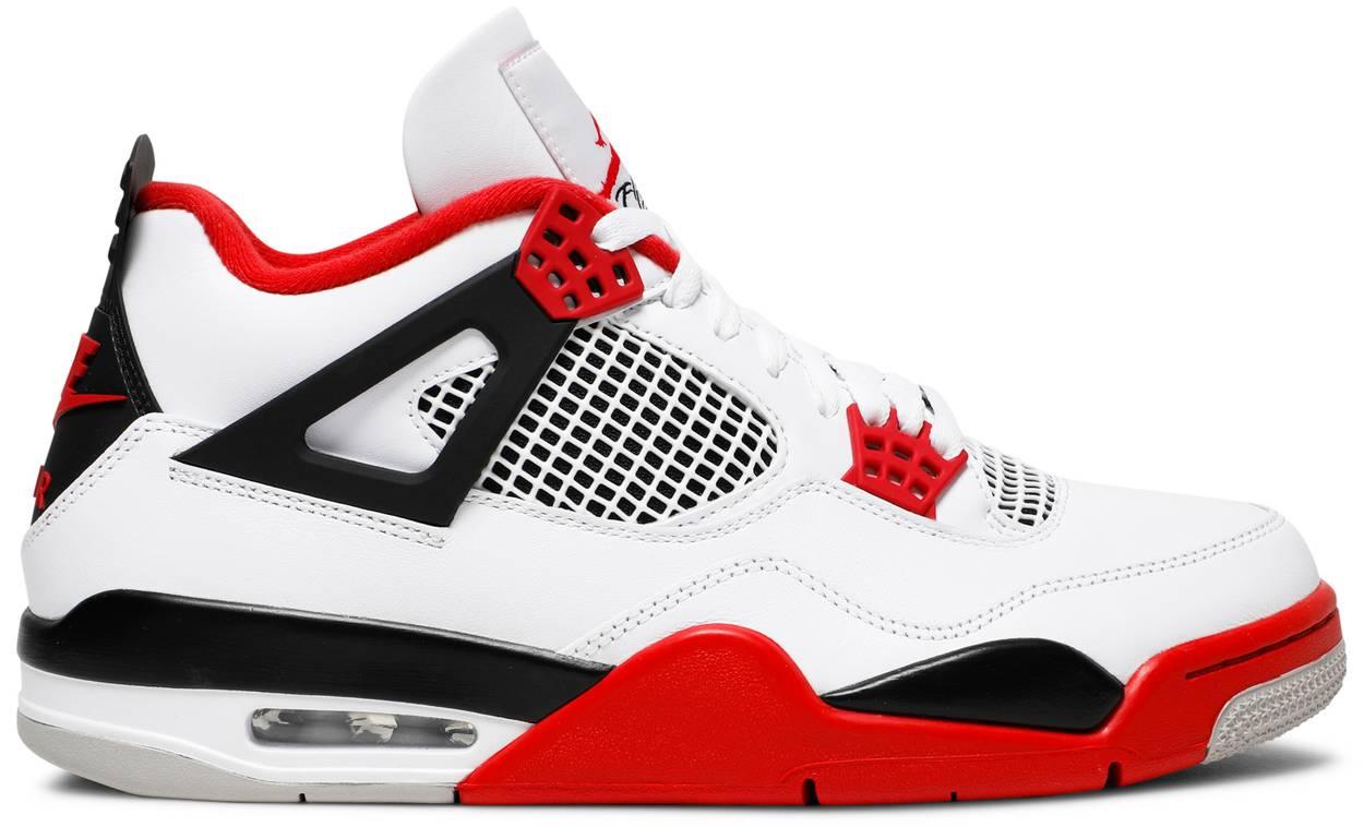 Tênis Air Jordan 4 Retro OG Fire Red
