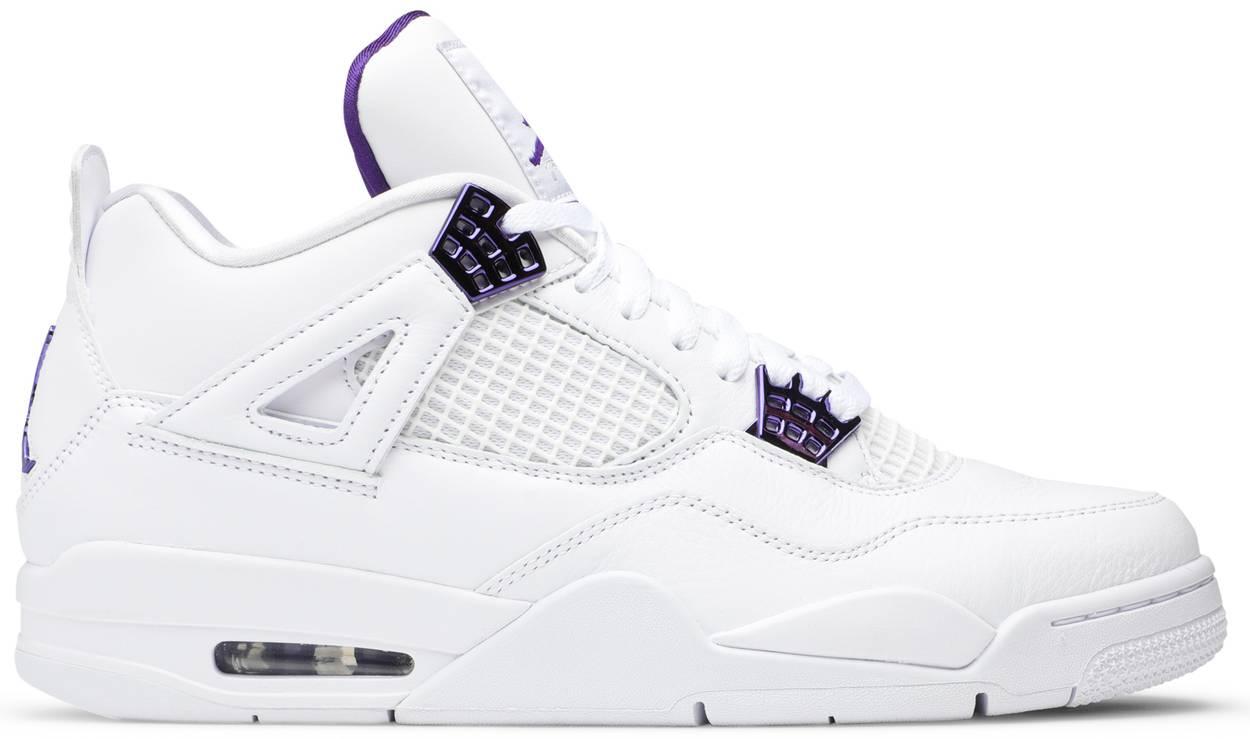 Tênis Air Jordan 4 Retro Purple Metallic