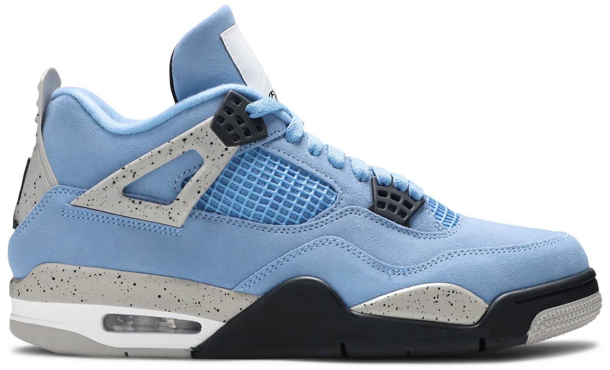 Tênis Air Jordan 4 Retro University Blue