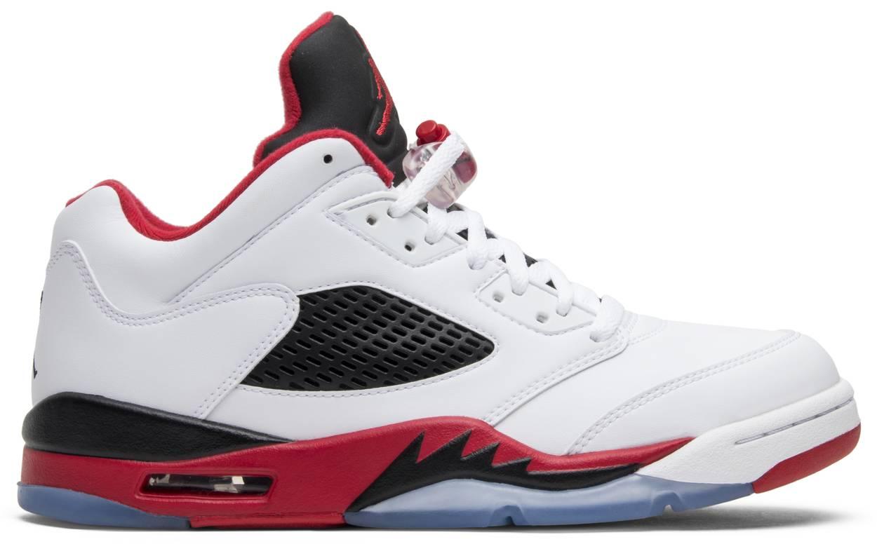 Tênis Air Jordan 5 Low Fire Red