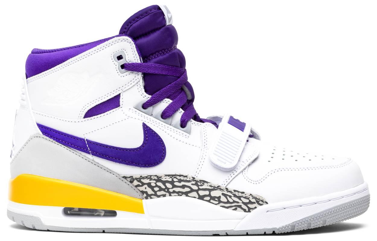 Tênis Jordan Legacy 312 Lakers
