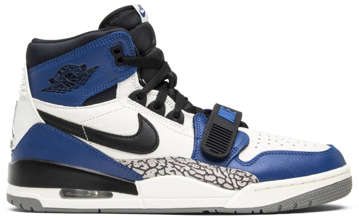Tênis Just Don x Jordan Legacy 312 Storm Blue