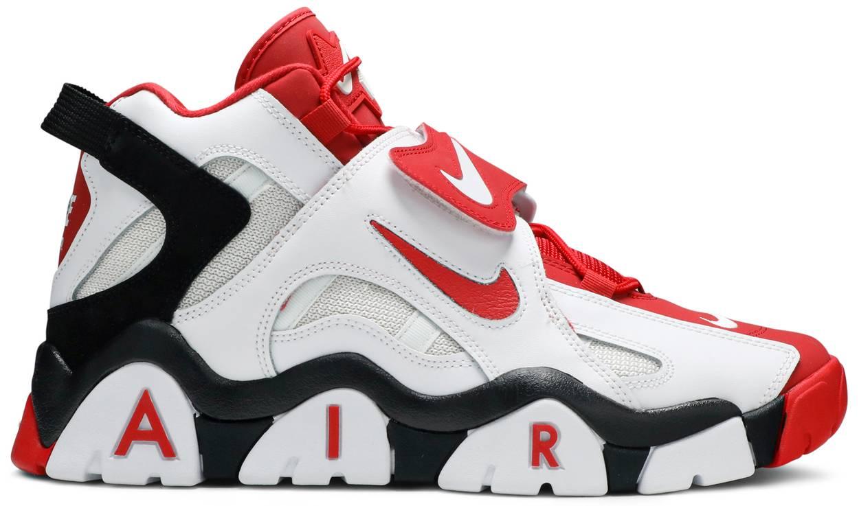 Tênis Nike Air Barrage Mid University Red