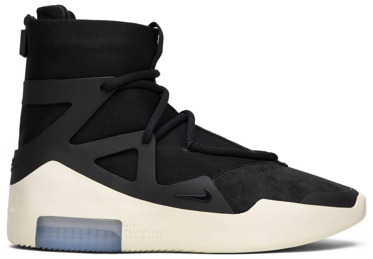 Tênis Nike Air Fear Of God 1 Black