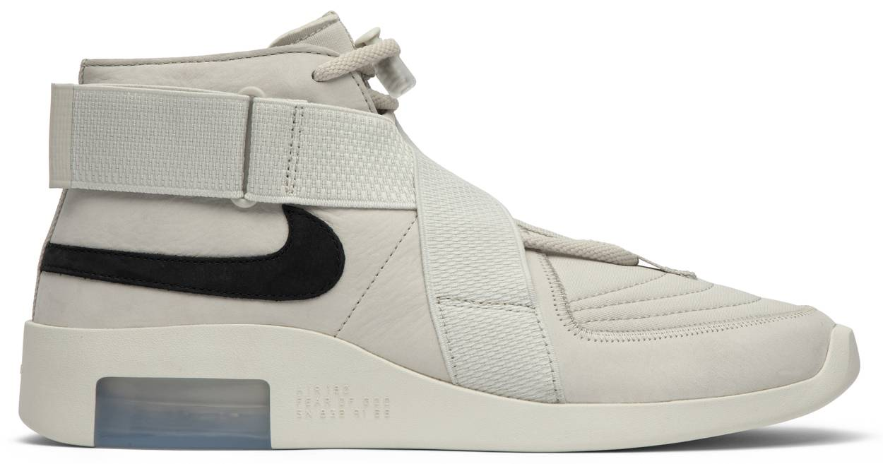 Tênis Nike Air Fear Of God Raid Light Bone
