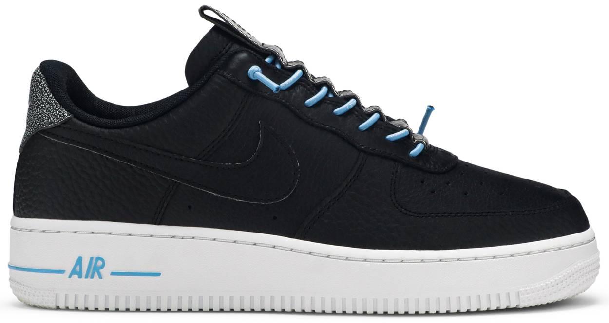 Tênis Nike Air Force 1 '07 Lux Black Reflective
