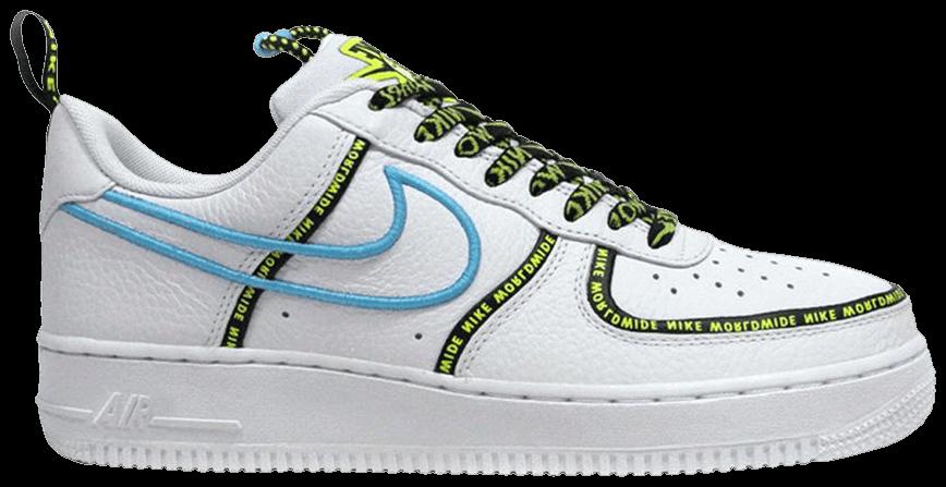 Tênis Nike Air Force 1 '07 Premium Worldwide Pack - Blue Fury