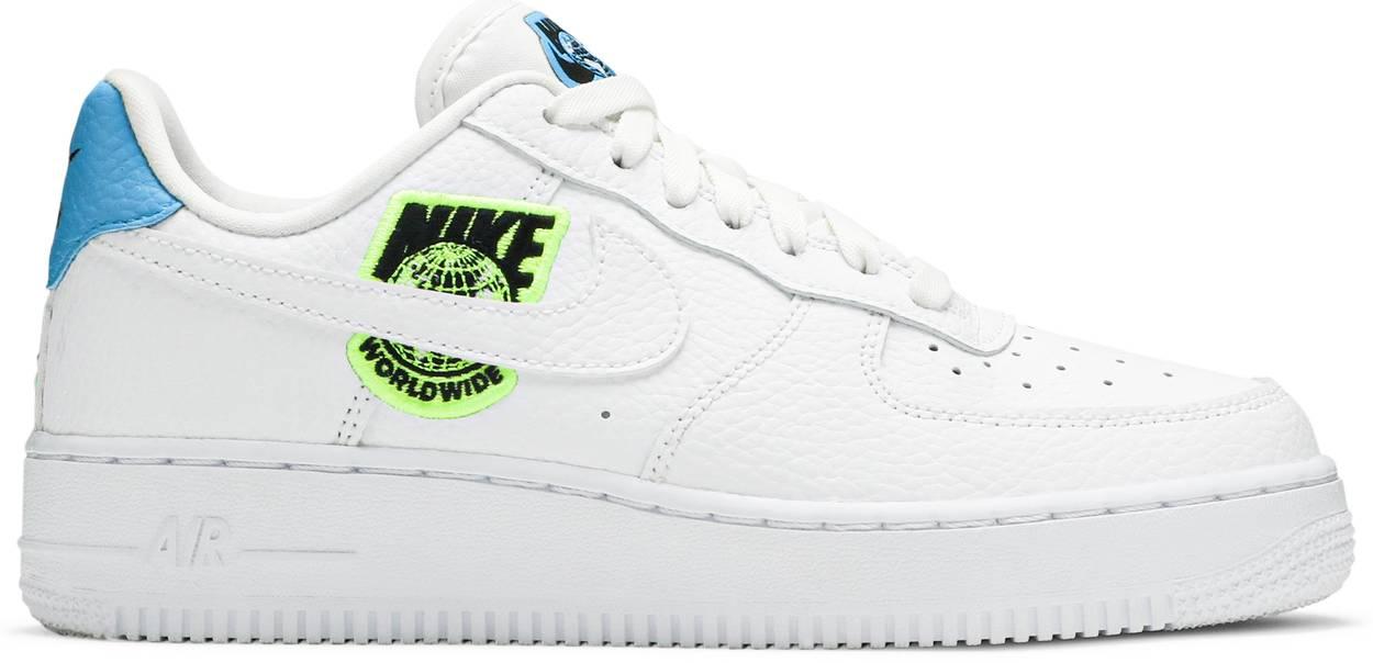 Tênis Nike Air Force 1 '07 SE Worldwide Pack - Volt