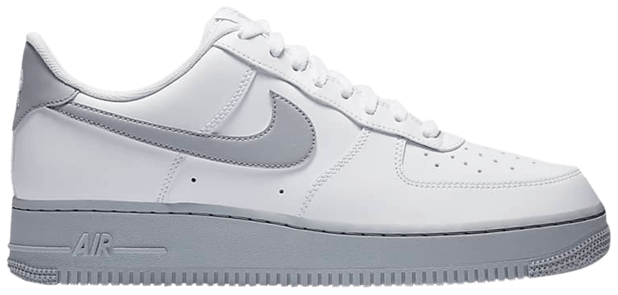 Tênis Nike Air Force 1 '07 White Grey Sole