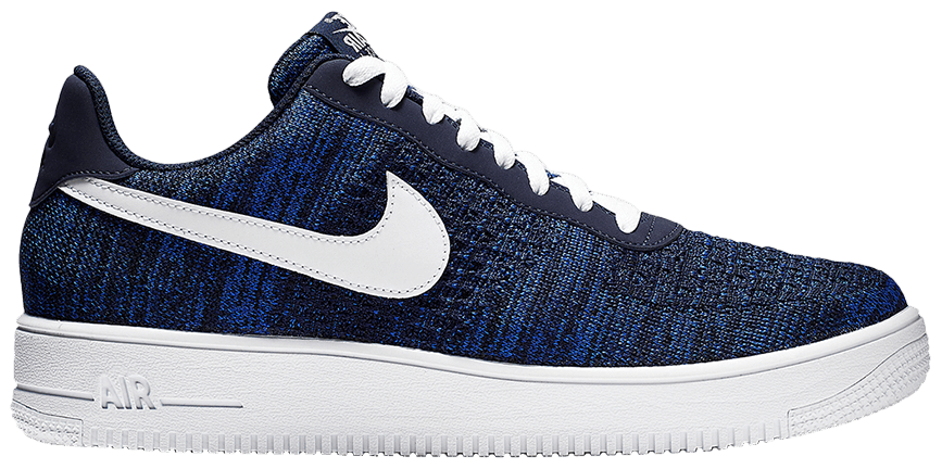 Tênis Nike Air Force 1 Flyknit Low 2.0 College Navy