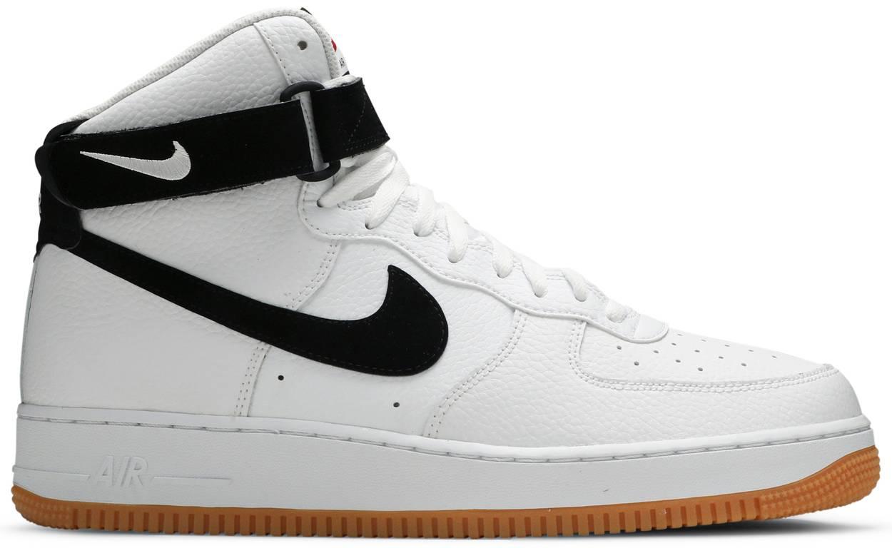 Tênis Nike Air Force 1 High '07 White Gum