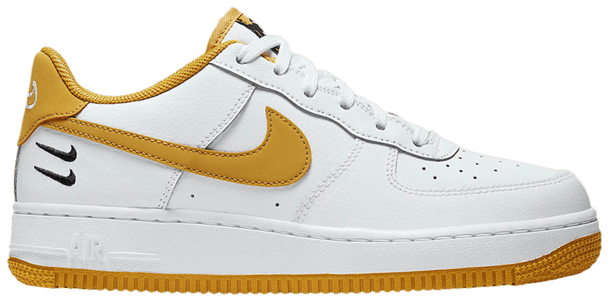 Tênis Nike Air Force 1 HO20 BG Dual Swoosh - White Wheat