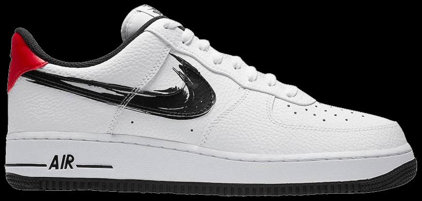 Tênis Nike Air Force 1 Low Brushstroke Swoosh - White