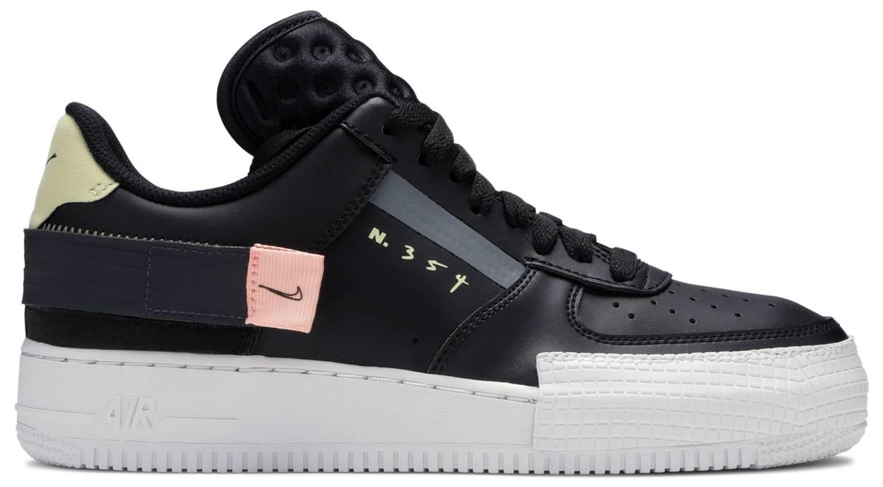 Tênis Nike Air Force 1 Low Drop Type Pink Tint