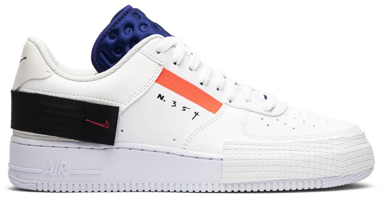 Tênis Nike Air Force 1 Low Drop Type Summit White
