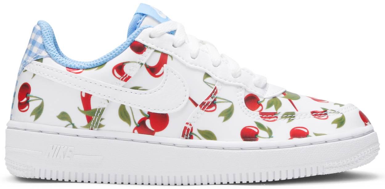 Tênis Nike Air Force 1 Low GS Cherry