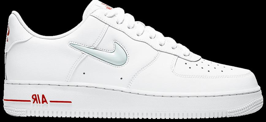 Tênis Nike Air Force 1 Low Jewel White