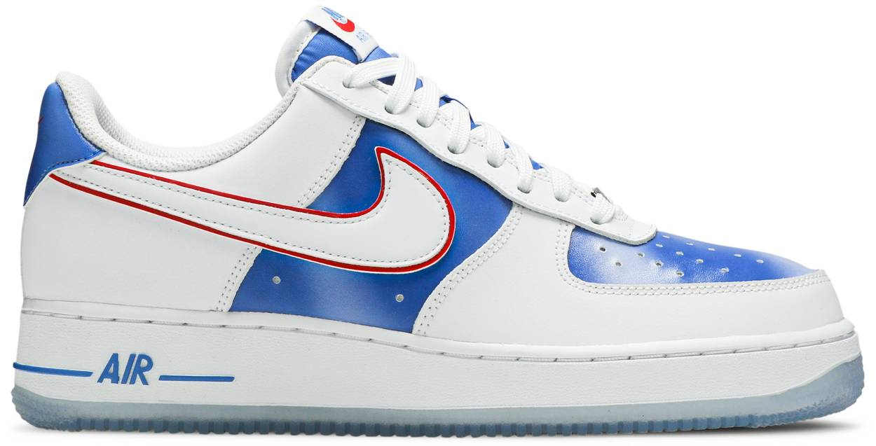 Tênis Nike Air Force 1 Low New Jersey Nets Hardwood Classics