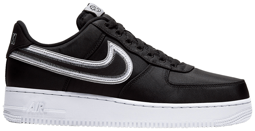 Tênis Nike Air Force 1 Low Reverse Stitch - Black