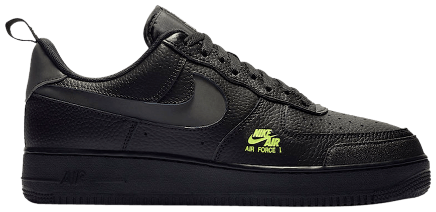Tênis Nike Air Force 1 LV8 Low Utility Black Volt