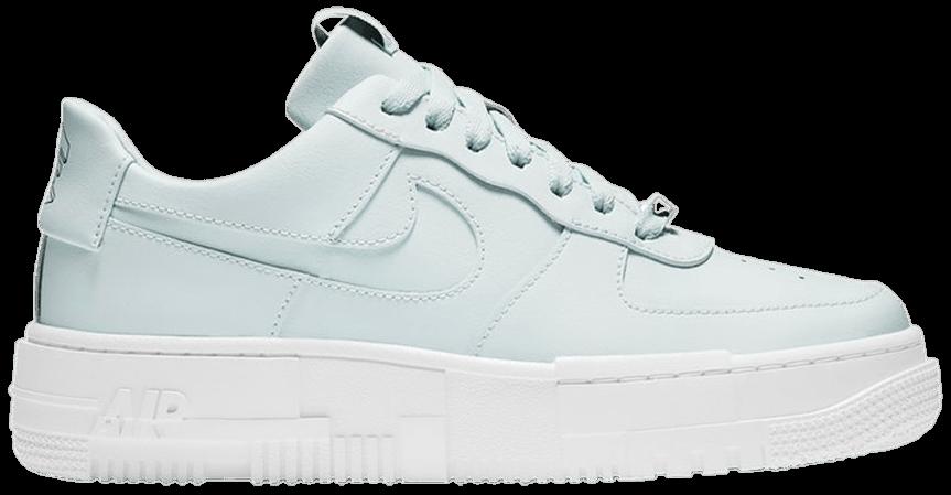 Tênis Nike Air Force 1 Pixel Ghost Aqua