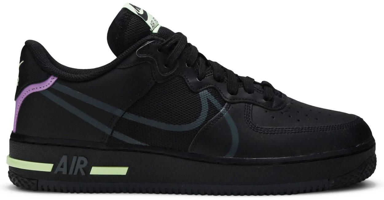Tênis Nike Air Force 1 React Violet Star