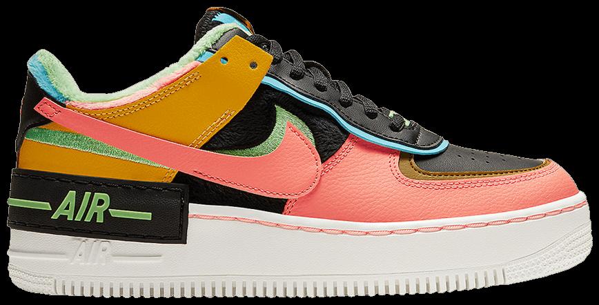 Tênis Nike Air Force 1 Shadow SE Solar Flare Atomic Pink