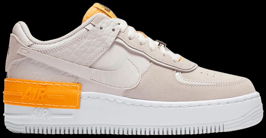 Tênis Nike Air Force 1 Shadow Tan Orange