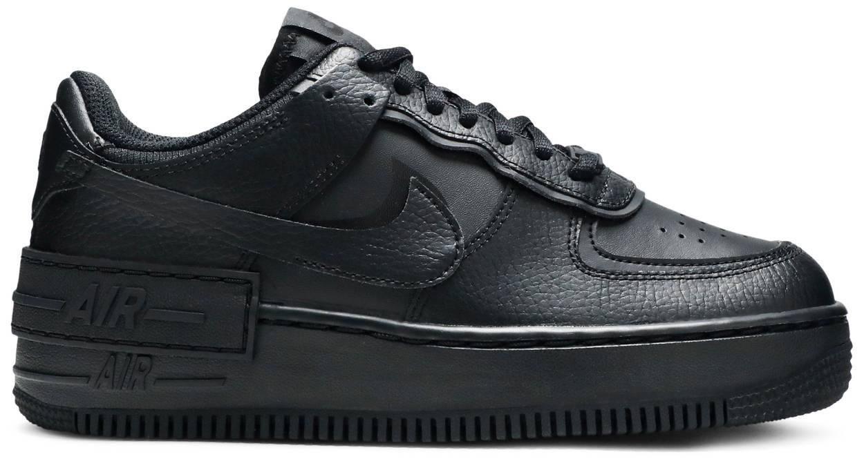 Tênis Nike Air Force 1 Shadow Triple Black