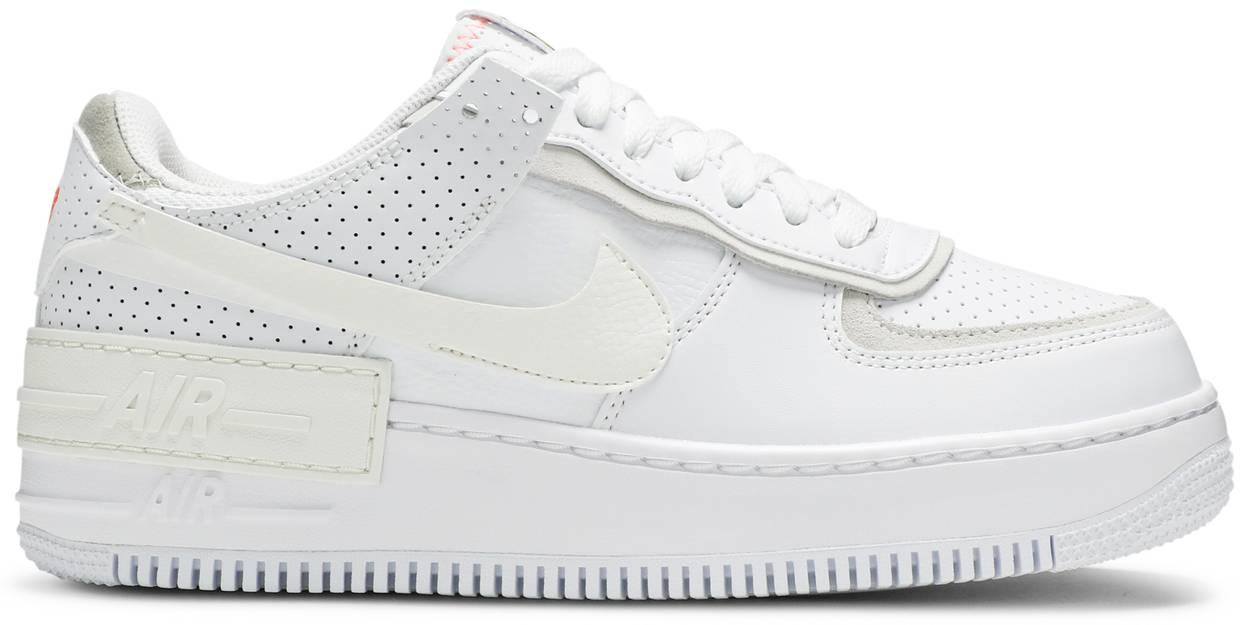 Tênis Nike Air Force 1 Shadow White Atomic Pink