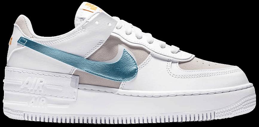Tênis Nike Air Force 1 Shadow White Glacier Ice