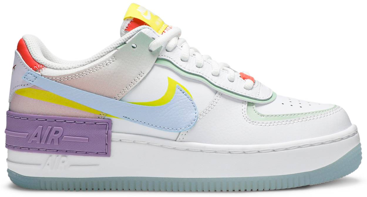 Tênis Nike Air Force 1 Shadow White Hydrogen Blue