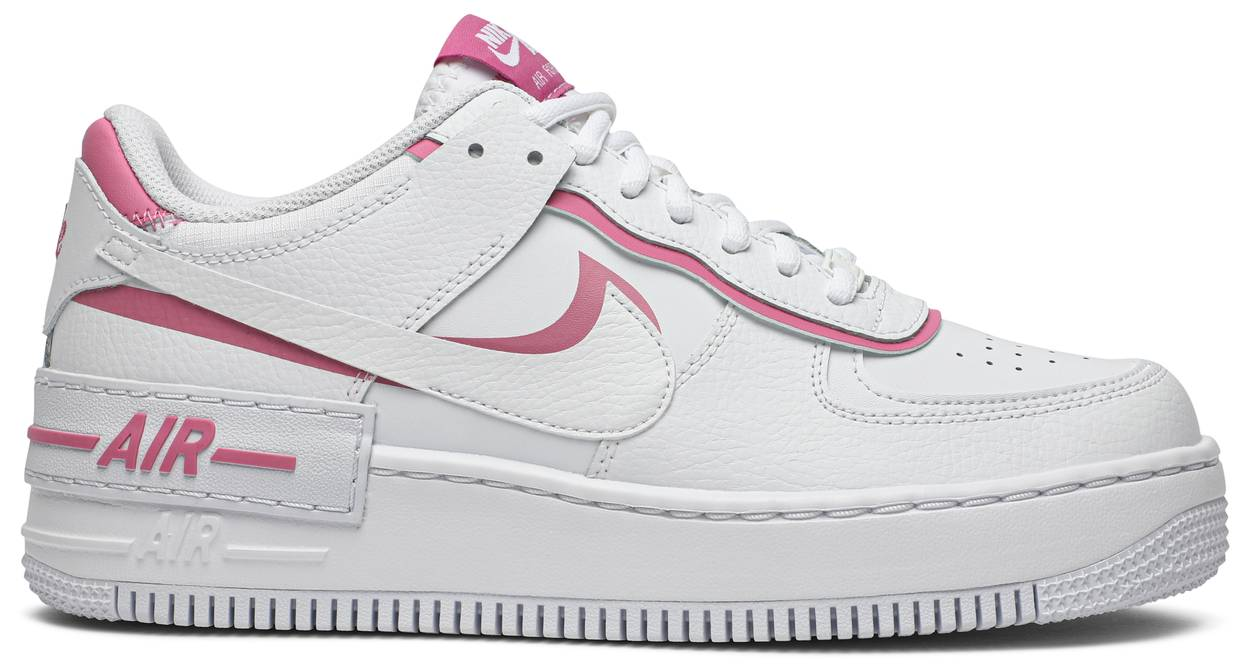 Tênis Nike Air Force 1 Shadow White Magic Flamingo