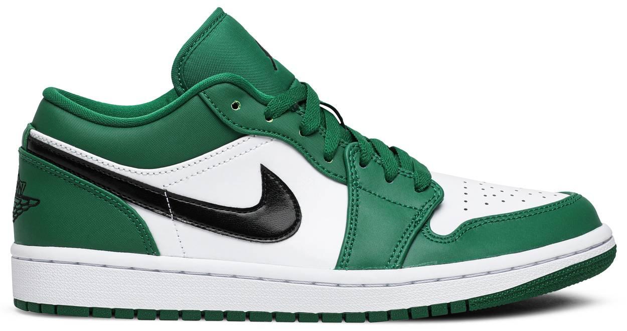 Tênis Air Jordan 1 Low Pine Green