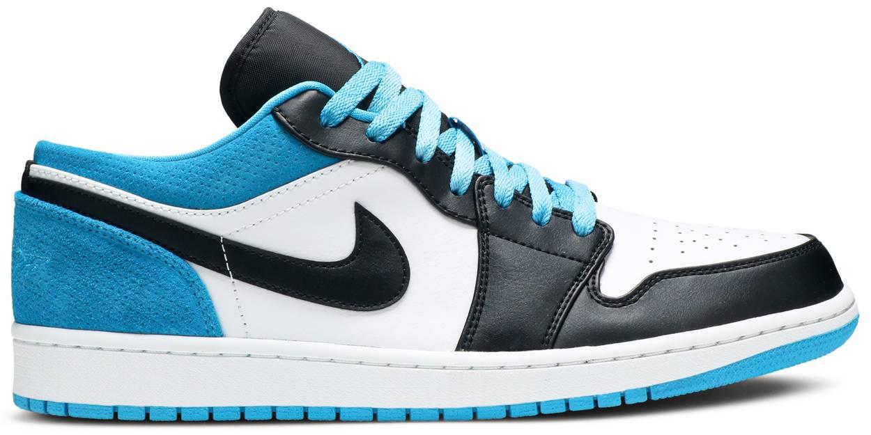 Tênis Air Jordan 1 Low SE Laser Blue